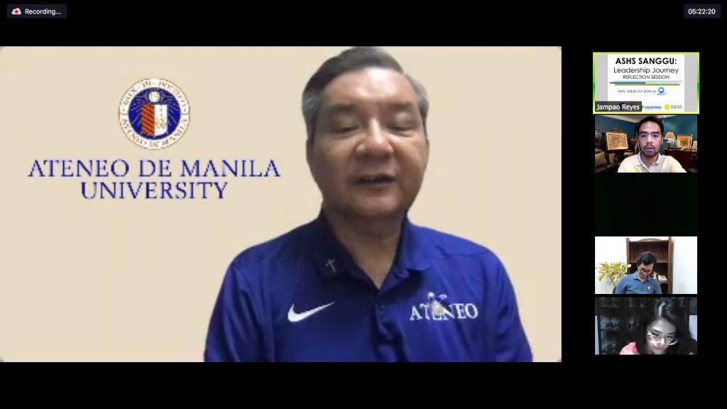 ADMU President Fr. Roberto C. Yap, SJ