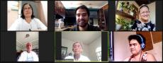 Facilitator Mr. Henri Macatangay with his breakout sharing group
